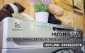 Hướng dẫn sử dụng máy giặt Electrolux hiệu quả, đúng cách