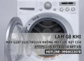 Làm gì khi máy giặt Electrolux không mở cửa, kẹt cửa