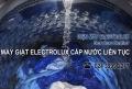 Máy giặt Electrolux cấp nước liên tục? Nguyên nhân và cách sửa